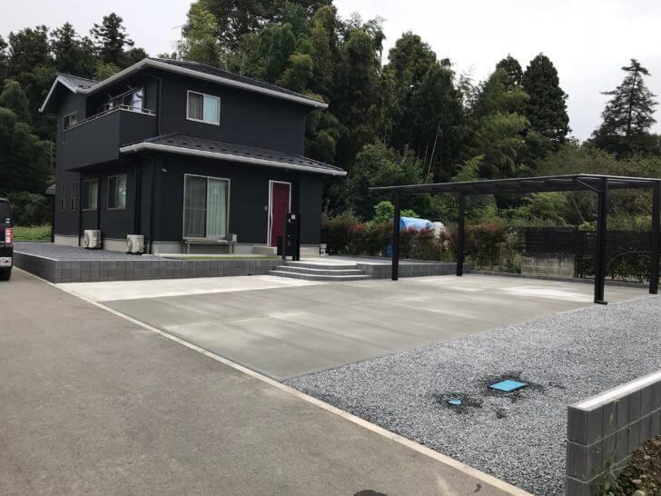 栃木県 大田原市O様邸 外構工事 完成状況